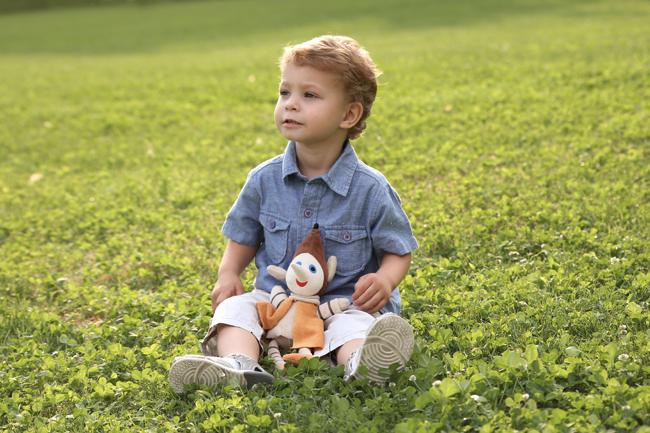 kisfiú fotózás